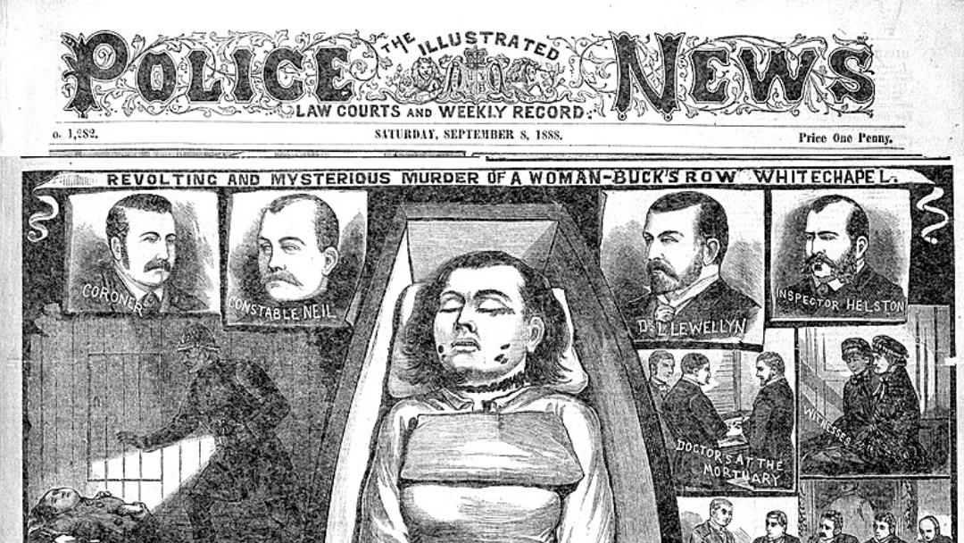 Mary Ann Nichols Newspaper