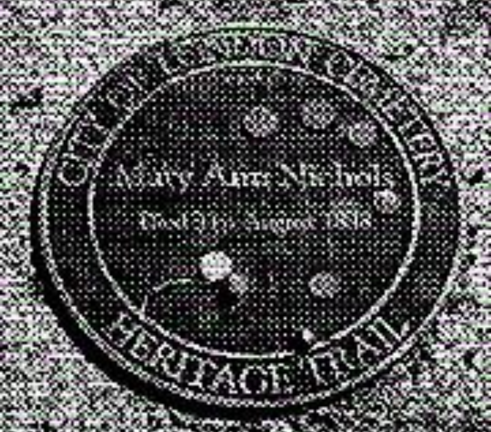 Mary Ann Nichole Tombstone
