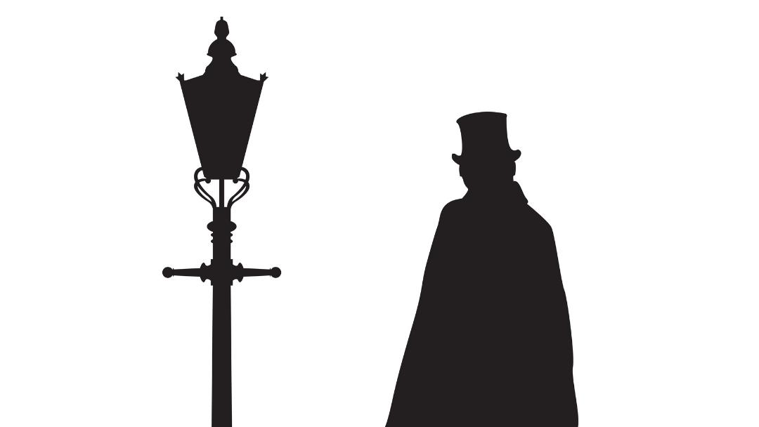 Jack the Ripper Street Lamp